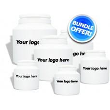 Own Label: bundle offer (all current labels setup PLUS pot images)