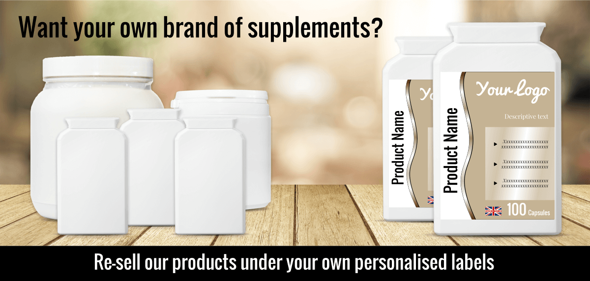 Start your own food supplements brand