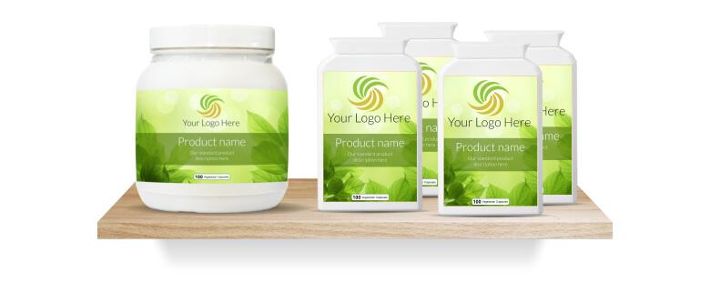 Private label vitamins