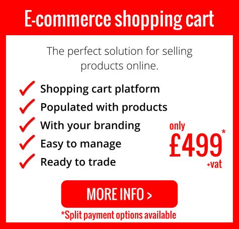Turnkey e-commerce shopping cart
