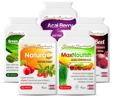 Comprehensive range of herbal and food-based products