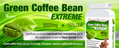 Green Coffee Bean EXTREME web banner
