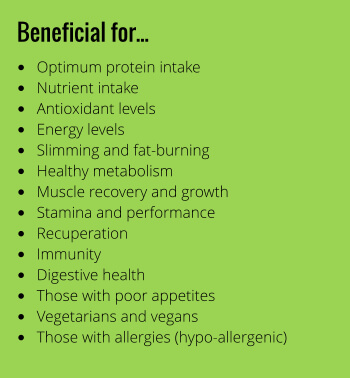 PEA Protein PLUS benefits
