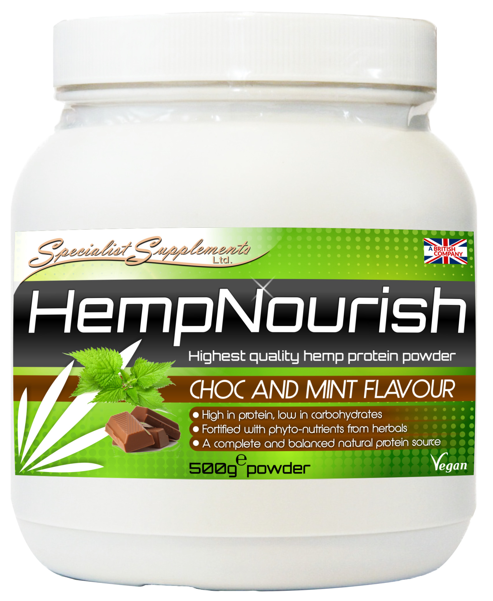 HempNourish - hemp protein powder, plus superfoods
