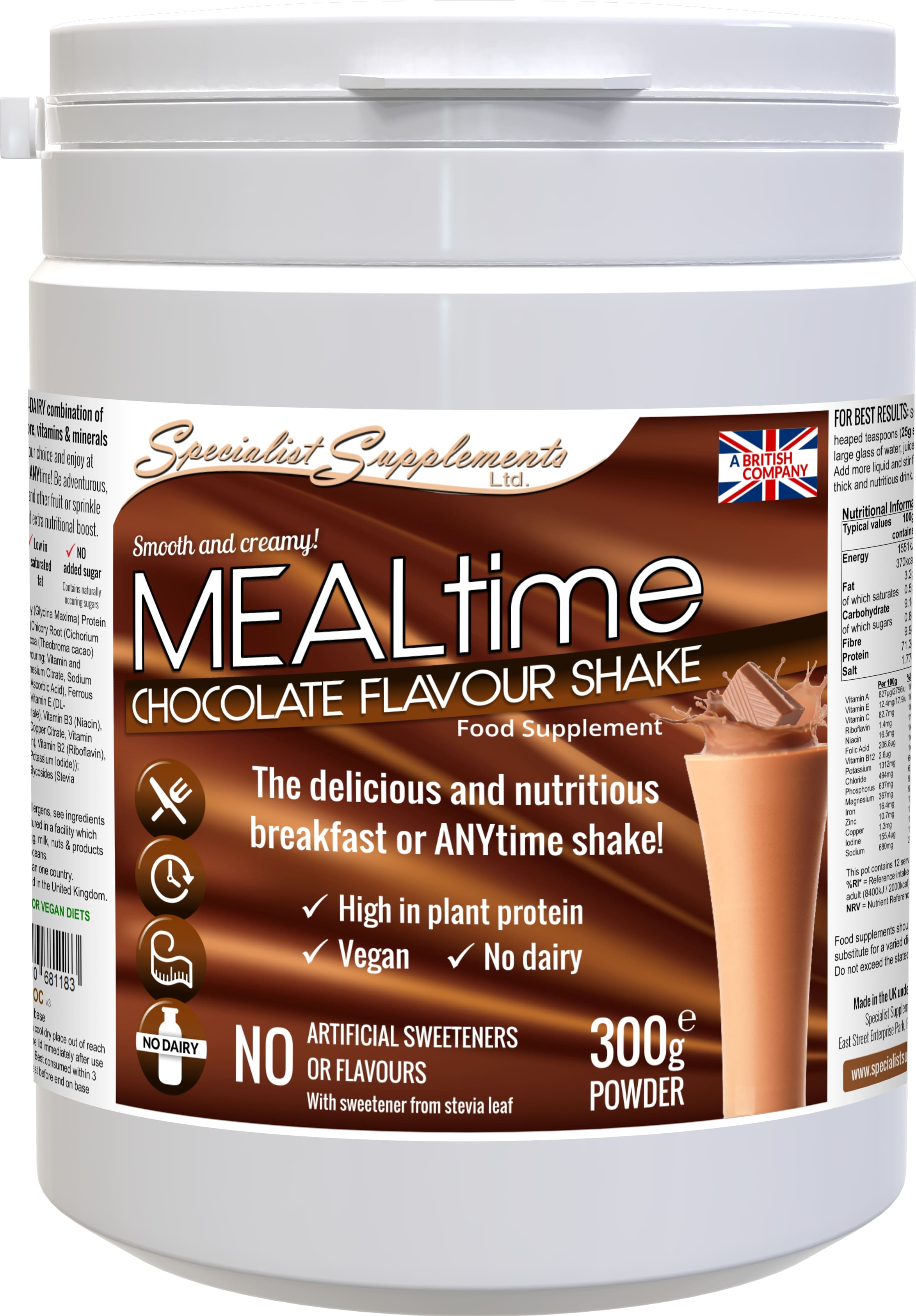 MEALtime (chocolate flavour)