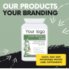 Sell supplements under your own branding