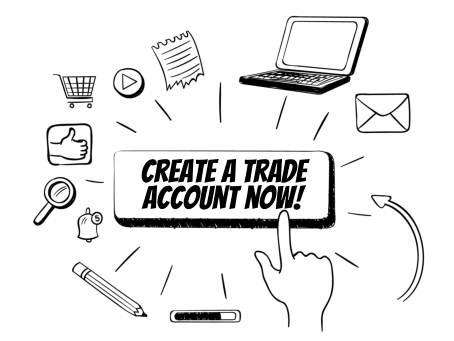 Create a trade account here