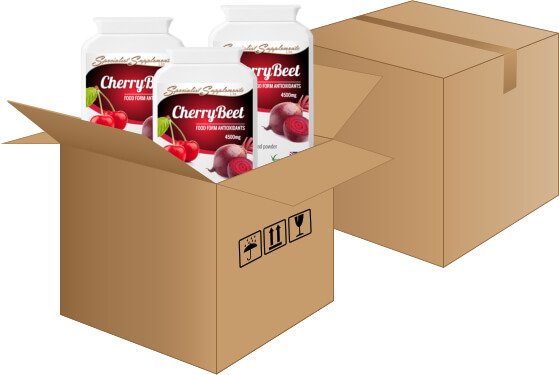 Dropshippers of cherry and beetroot capsules