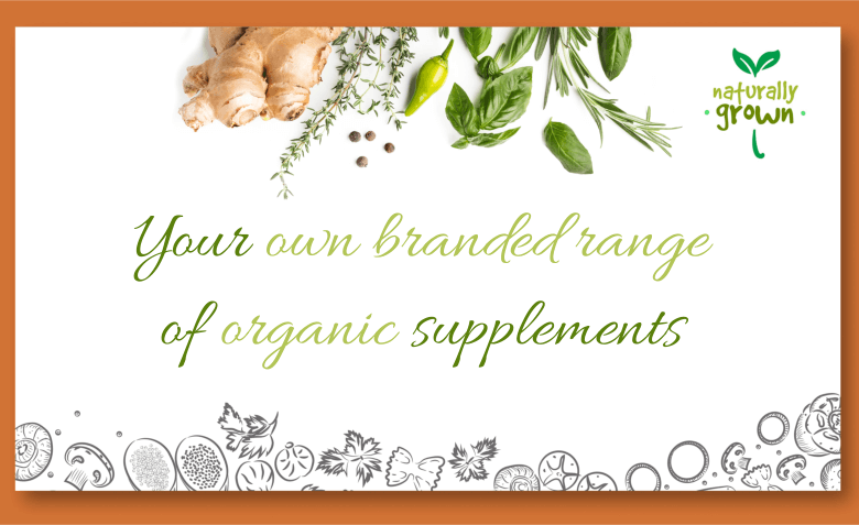Private label organic supplements UK