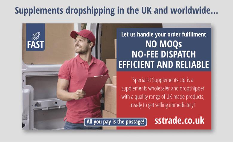 Supplements dropship UK