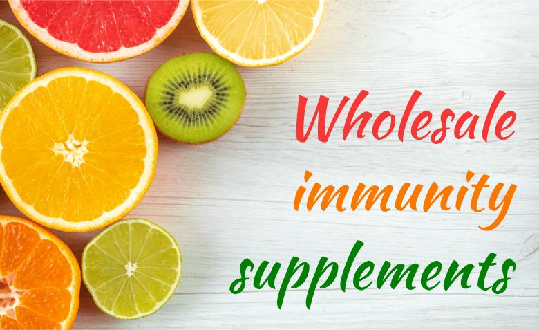Wholesale immune system supplements