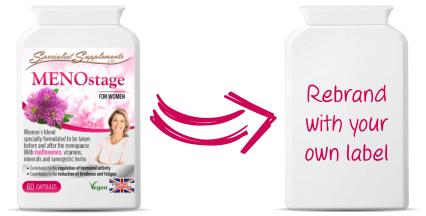 Wholesale menopause supplement