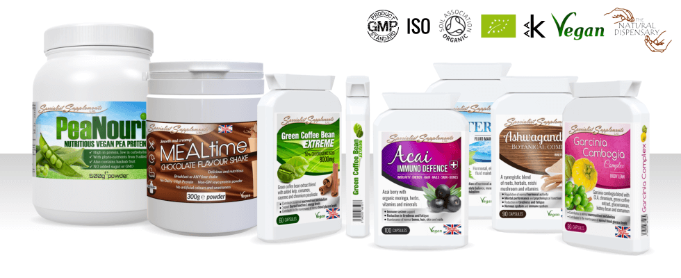 Specialist supplements you won't find anywhere else!