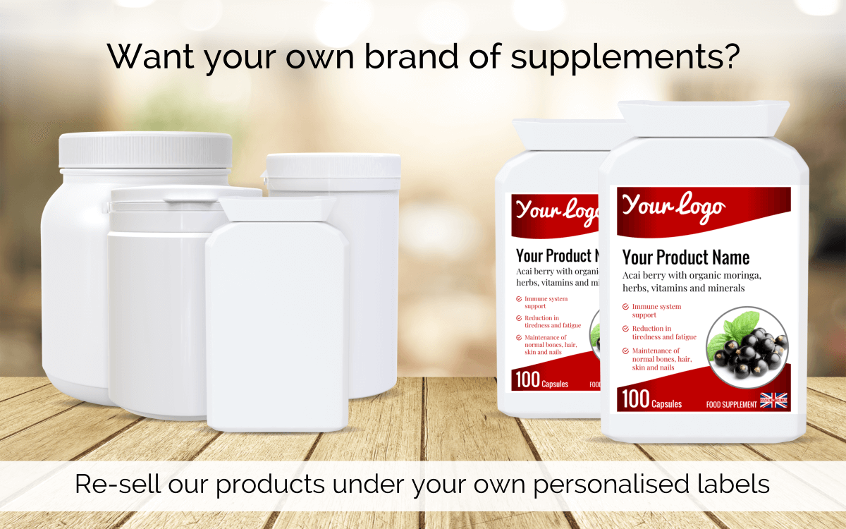 Own label supplements