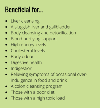Liv & Gall Clear benefits