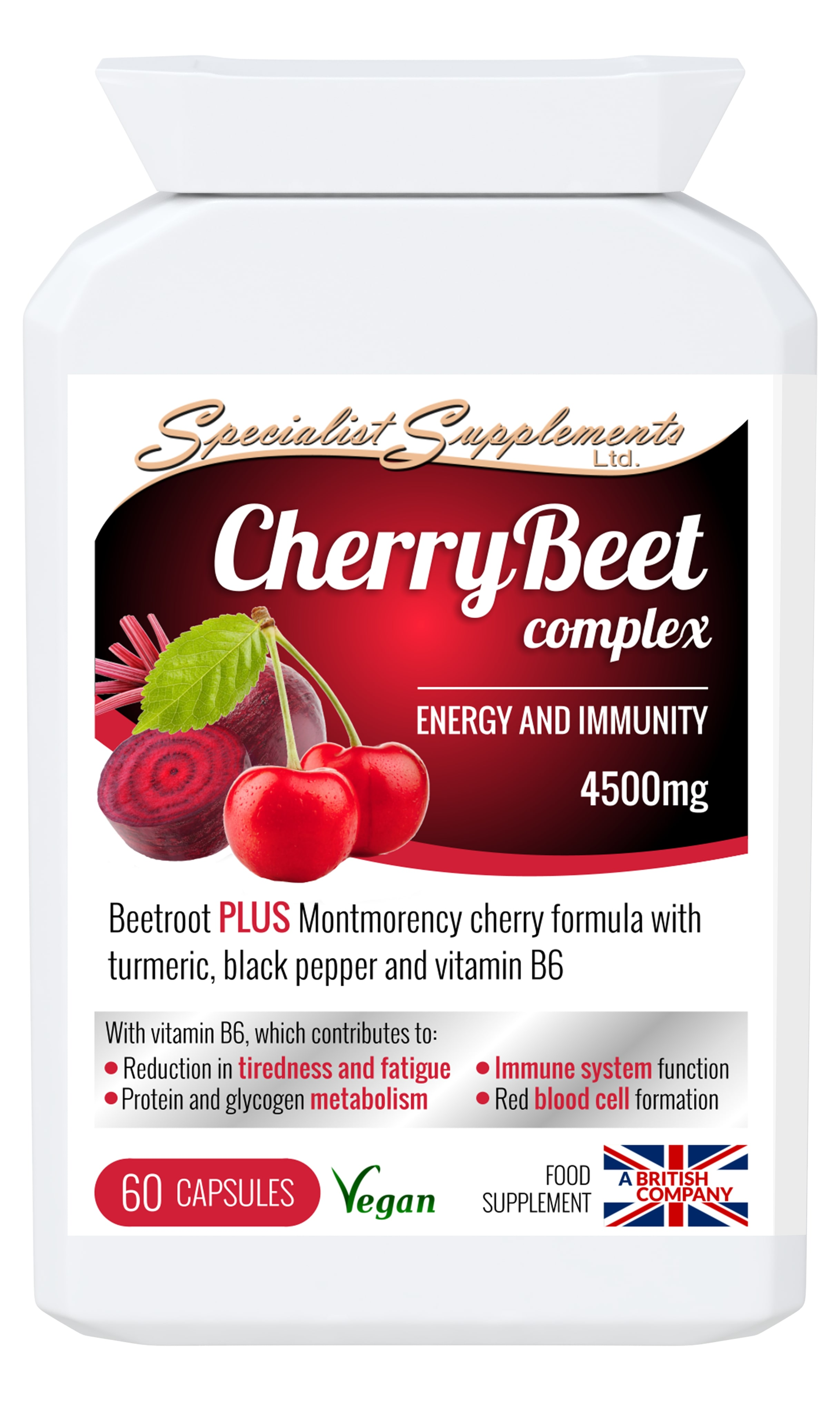 CherryBeet - wholesale combination cherry and beetroot capsules