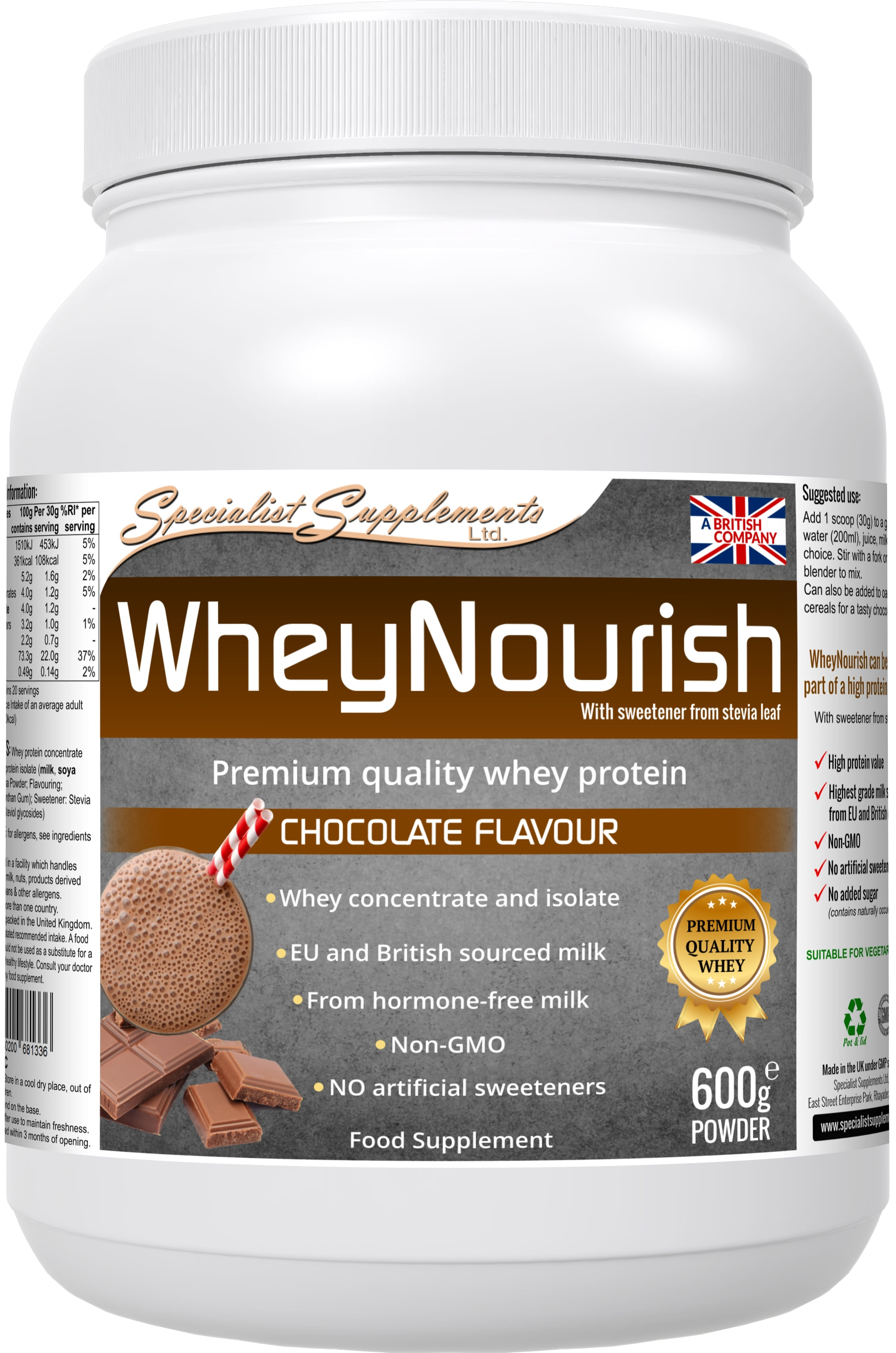 WheyNourish (chocolate flavour)
